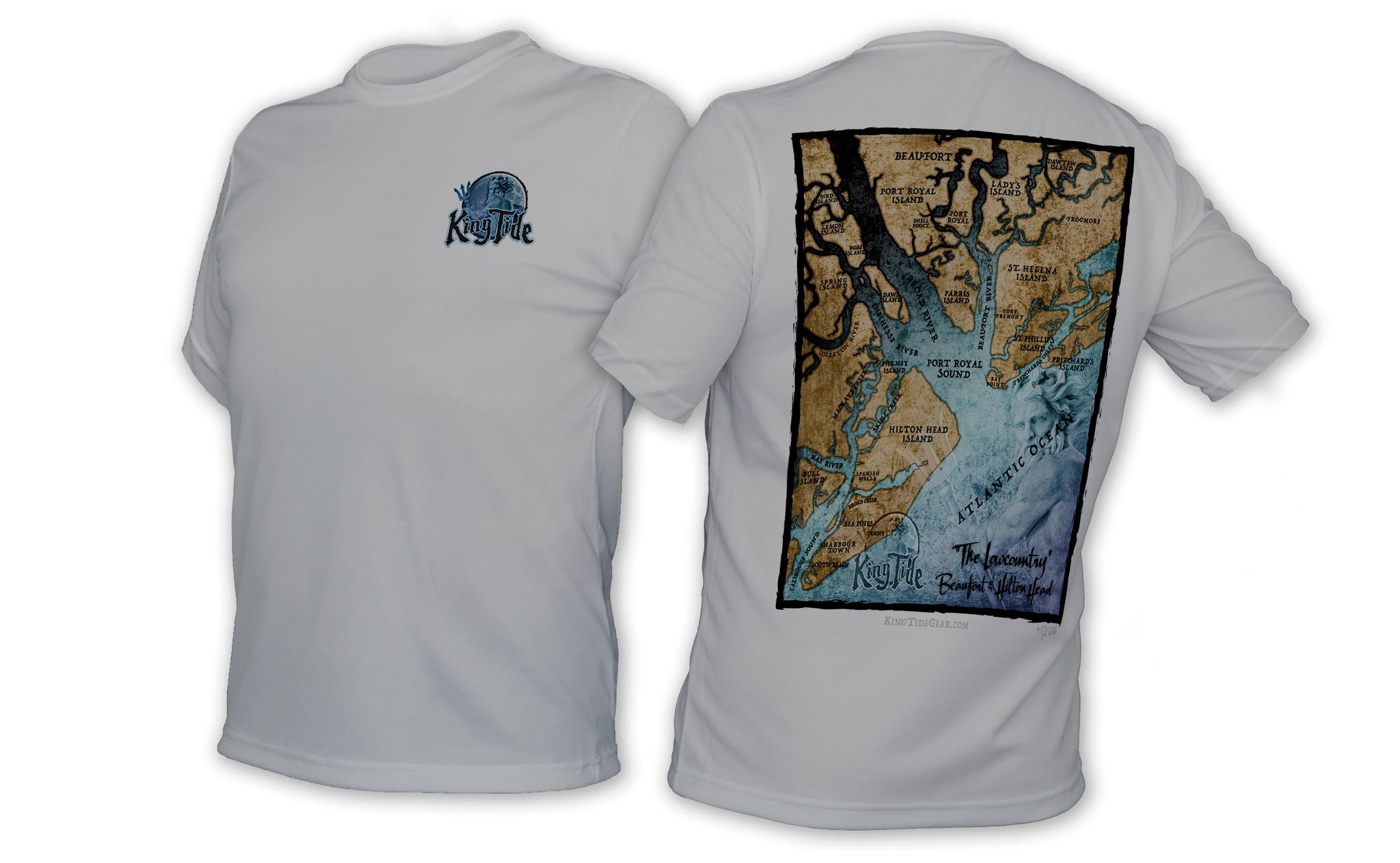 King Tide Hilton Head/Beaufort South Carolina SSChart Shirt