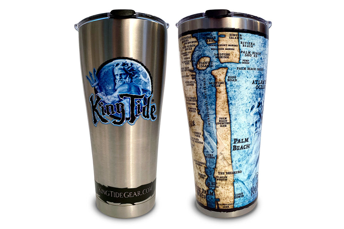 King Tide West Palm Beach 30oz. Tervis Stainless Steel Tumbler
