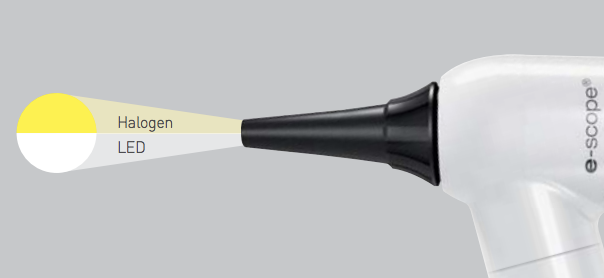 e-scope otoscope led light