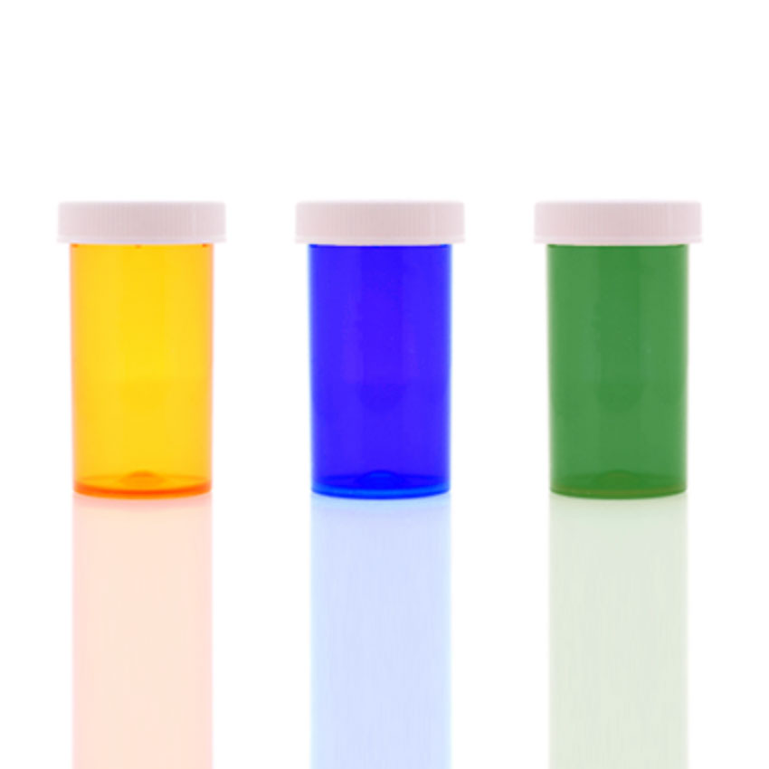 prescription vials with child resistant caps