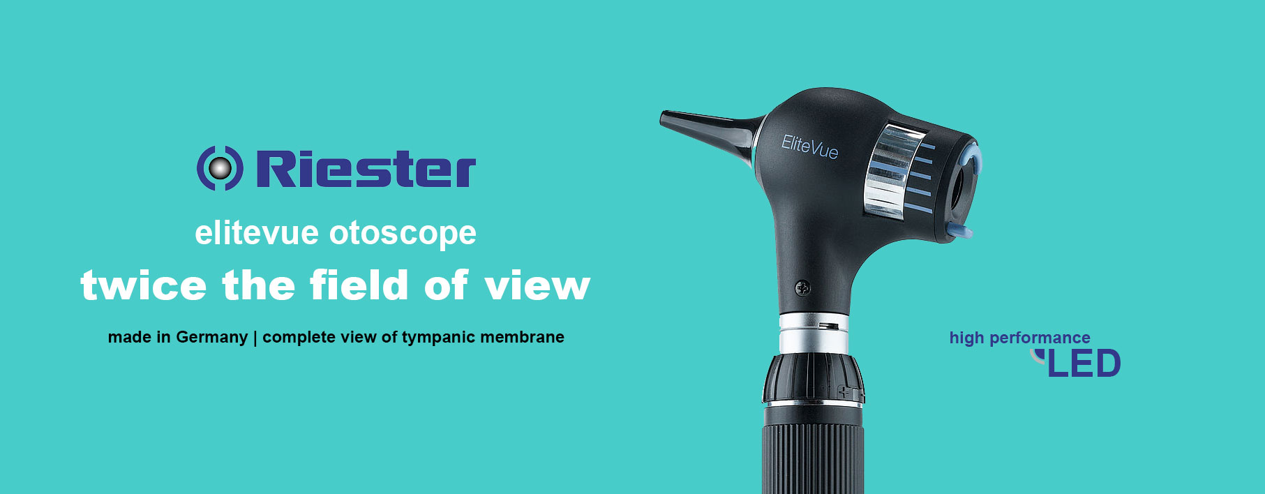 riester elitevue otoscope