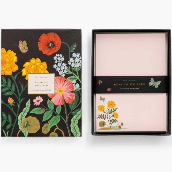Botanical Social Stationery