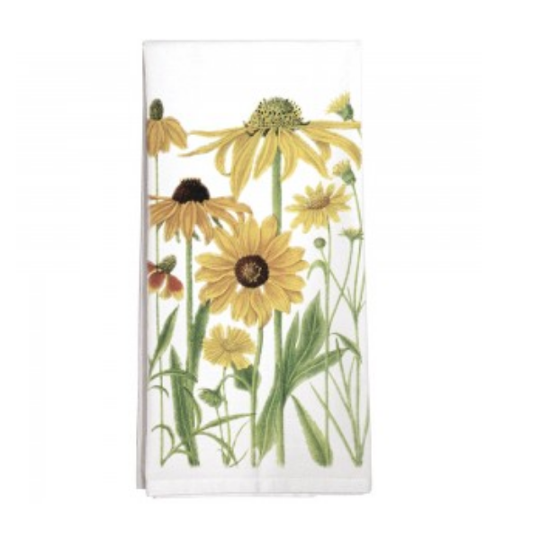 Yellow Flowers Towel