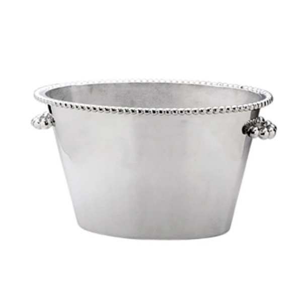 Pearled Double Ice Bucket