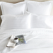 Duet II White Sheet Set
