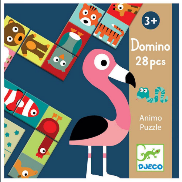 Animal Dominoes Puzzle