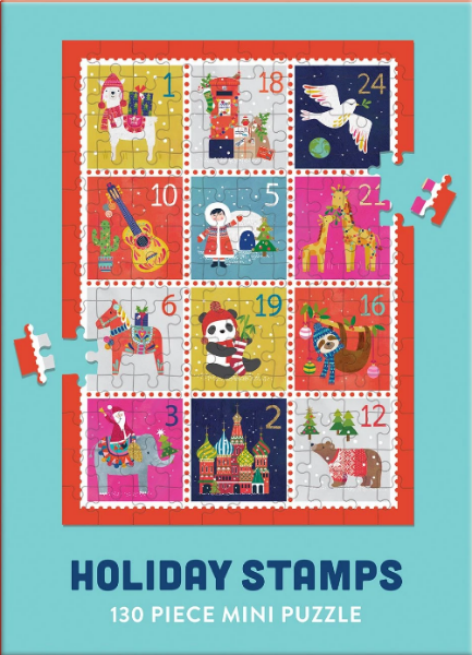 Holiday Stamps Mini Puzzle