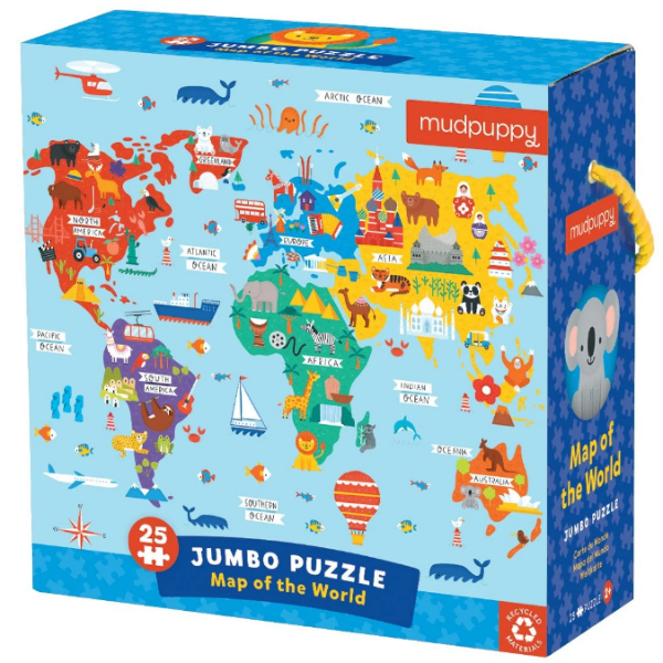 Map of the World Jumbo Puzzle