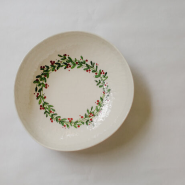 Melamine Christmas Soup/Cereal Bowl