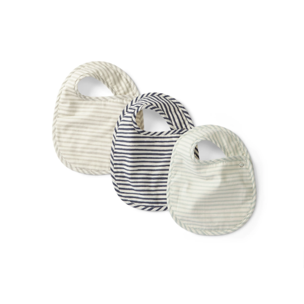 Baby Bib Set of 3- Sea