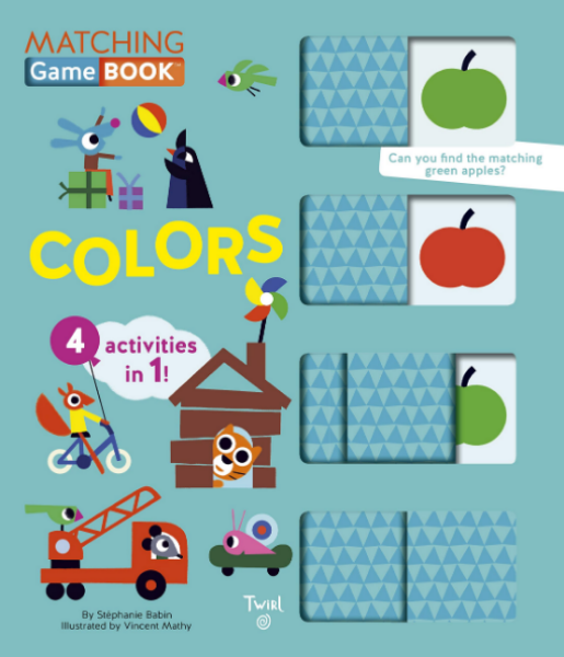 Matching Game Book: Colors