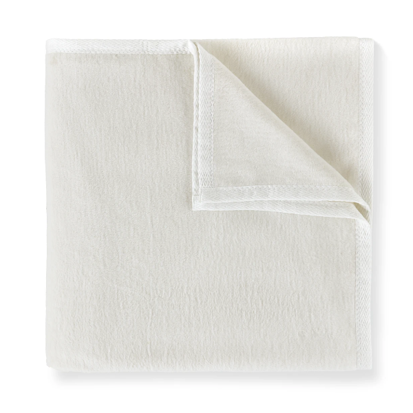 All-Seasons White Blanket