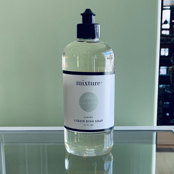 Mixture Dish Soap- Salt & Sage