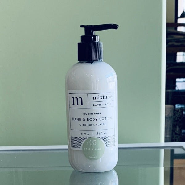 Mixture Hand Lotion- Salt & Sage