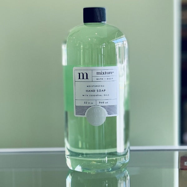 Mixture Hand Soap Refill- Salt & Sage