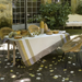 Bastide Ivory Coated Table Linens