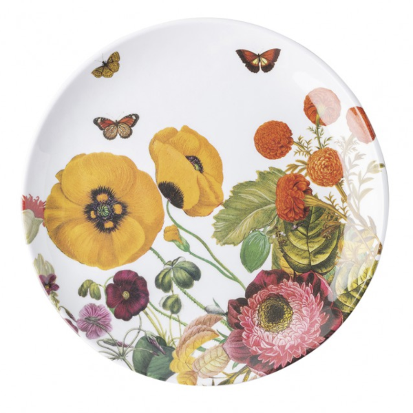 Field of Flowers Melamine Salad/Dessert