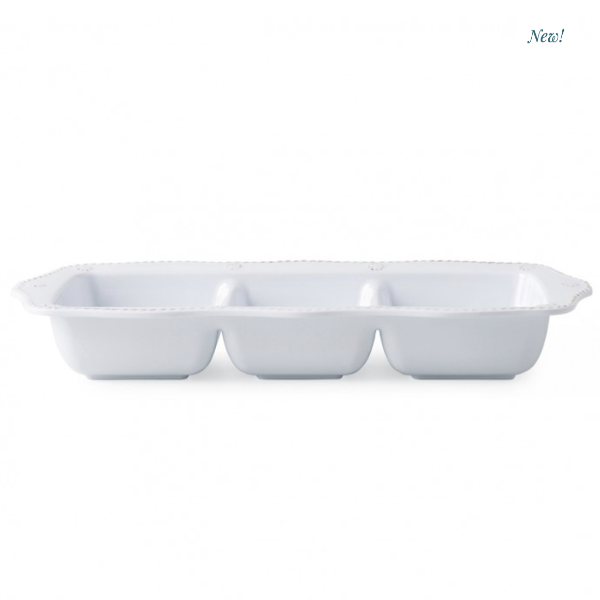 Berry & Thread Melamine Triple Server