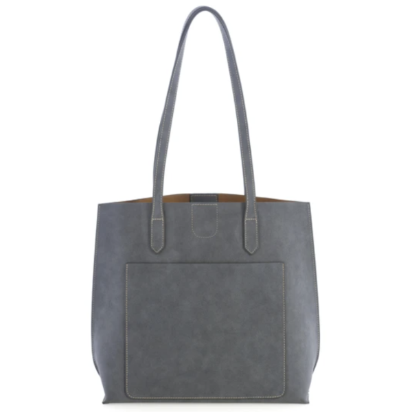Blair Day Tote : Steel