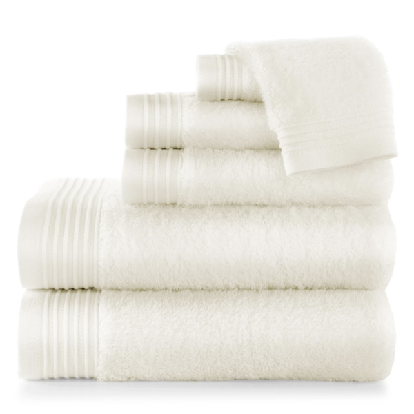 bamboo ivory bath towels