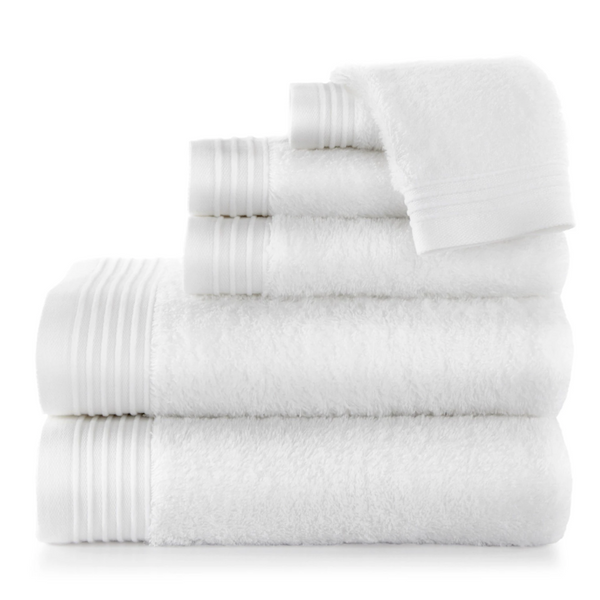 Bamboo White Bath Towels