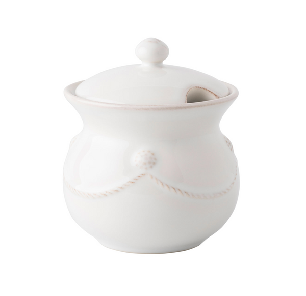 Berry & Thread Sugar Pot
