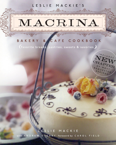 Macrina Bakery & Cafe Cookbook