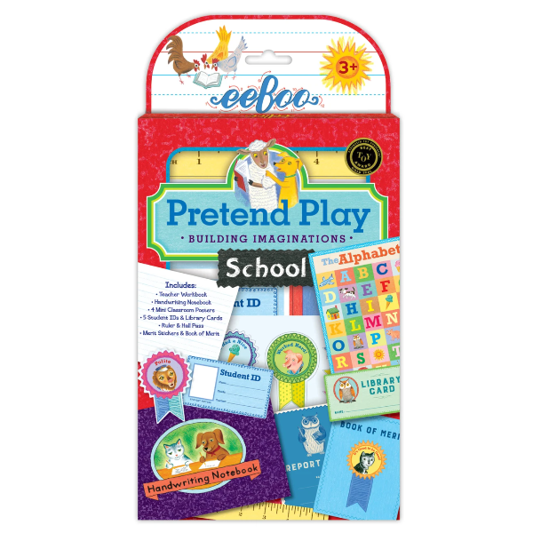 Pretend School Play Kit