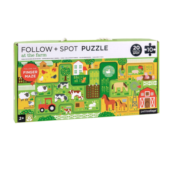 Follow + Spot Puzzle at the Farm