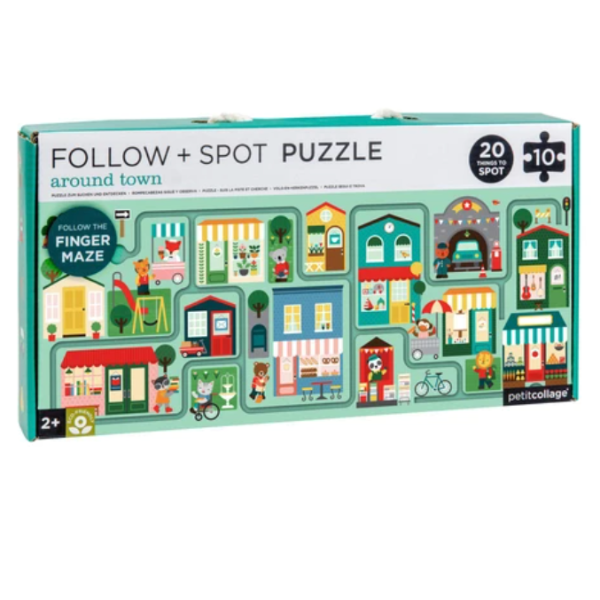 Follow + Spot Puzzle Around Town