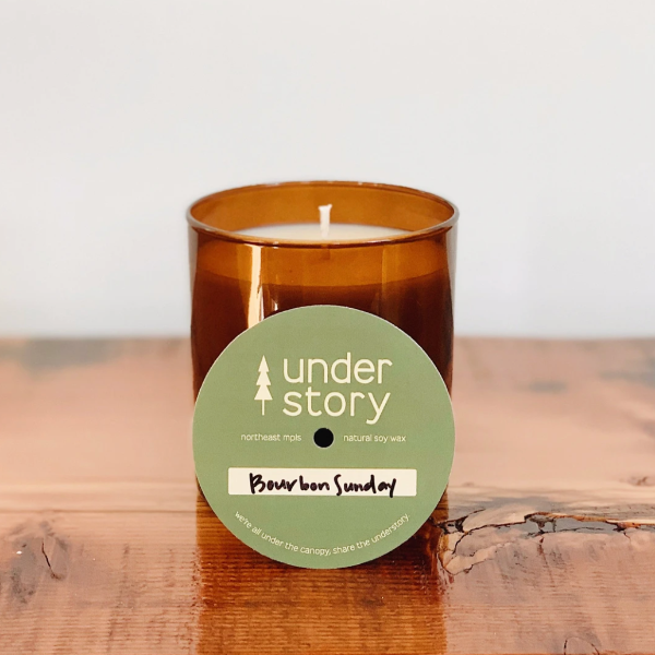 Bourbon Sunday Candle