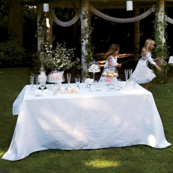 Sienna White Table Linens