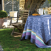 Provence Lavender Blue Coated Table Linens
