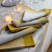 Sommets Enneiges Snow Table Linens