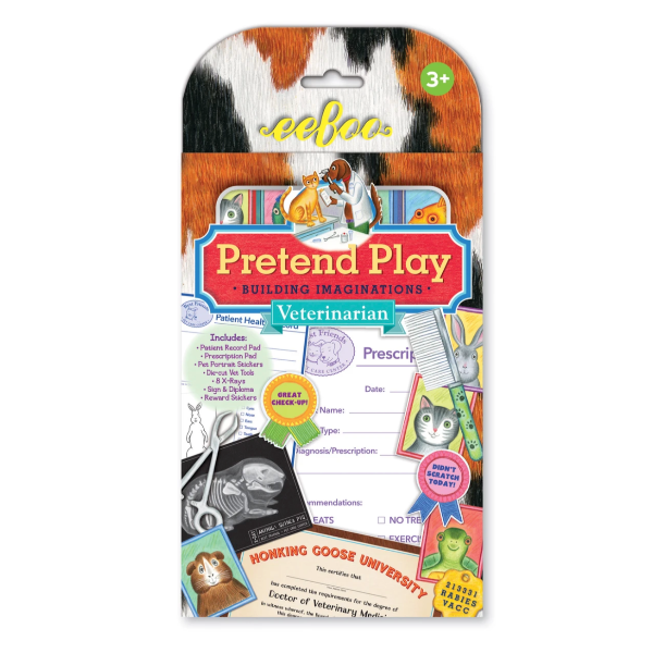 Pretend Veterinarian Play Kit