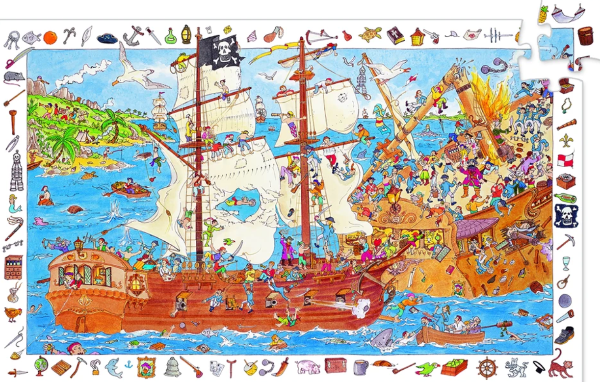 Observation Pirates Puzzle