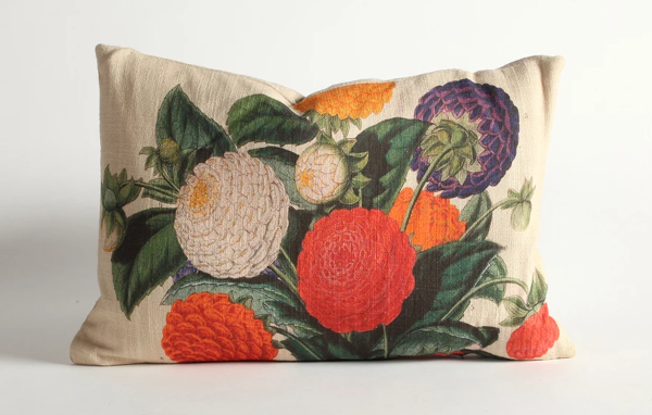 Colorful Bouquet Pillow