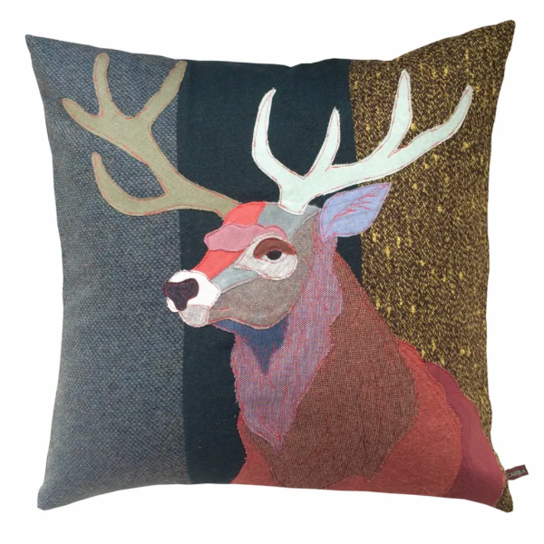 Red Buck Pillow