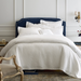 Juliet Pearl Matelasse Coverlet & Shams