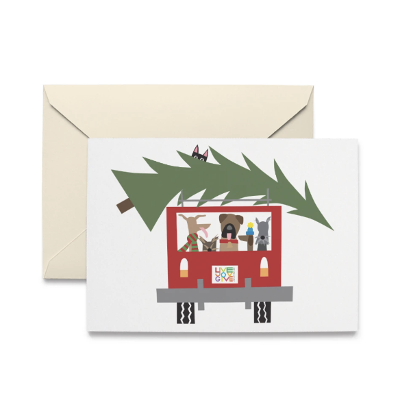 Tree Expedition Boxed Holiday Notecards