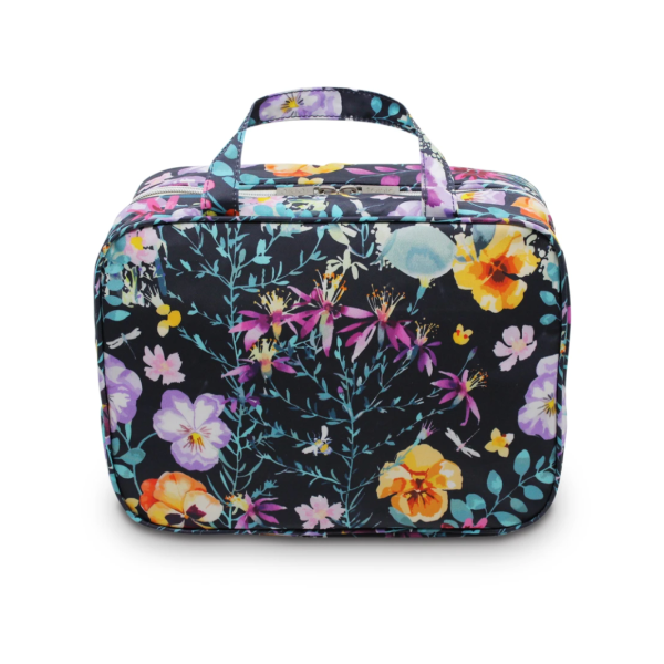 Evening Bloom Hanging Cosmetic Bag