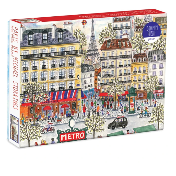 Michael Storrings Paris 1000-Pc. Puzzle