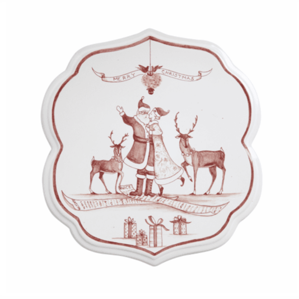 Country Estate Winter Frolic Trivet