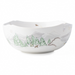 north pole serving bowl