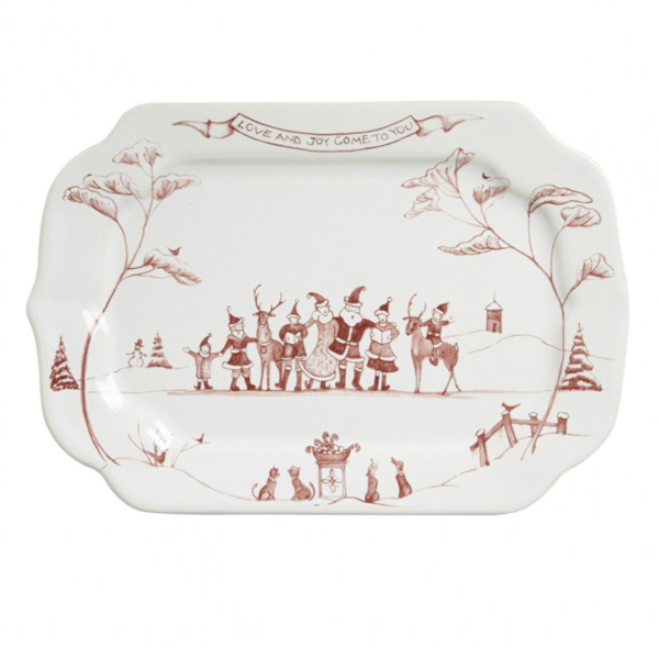Country Estate Love & Joy Tray