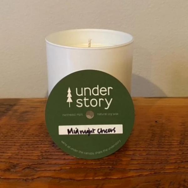 Midnight Cheers Candle