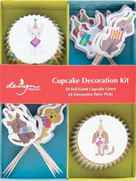 Party Pups Cupcake Decoration Kits