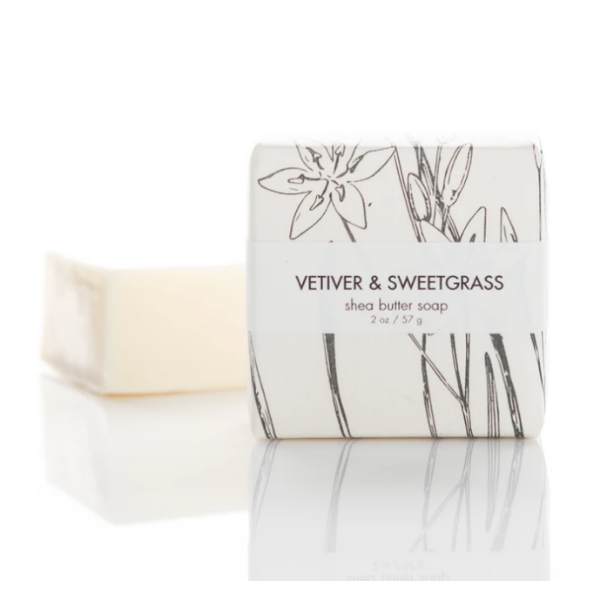 Shea Butter Soap- Vetiver & Sweetgrass