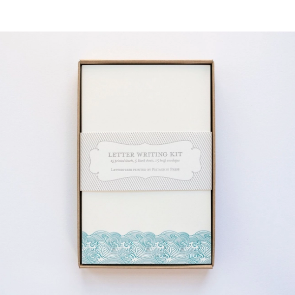 Wave Letter Writing Set