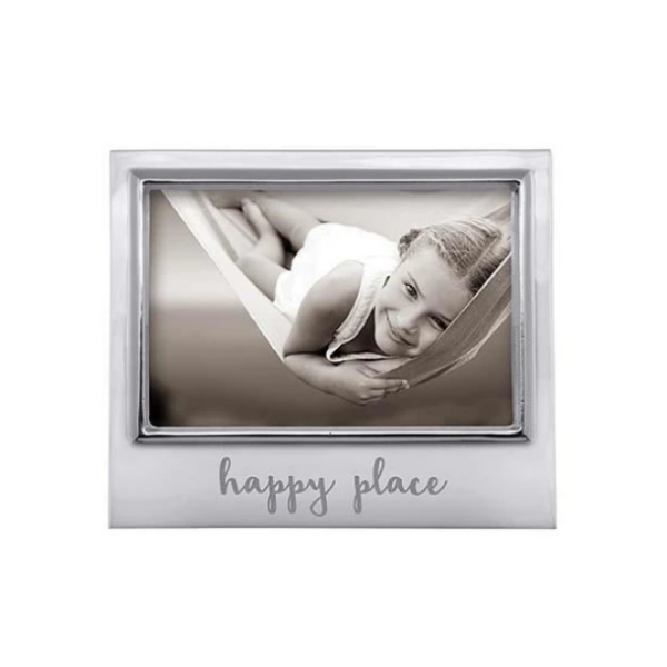 HAPPY PLACE 4x6 Signature Frame